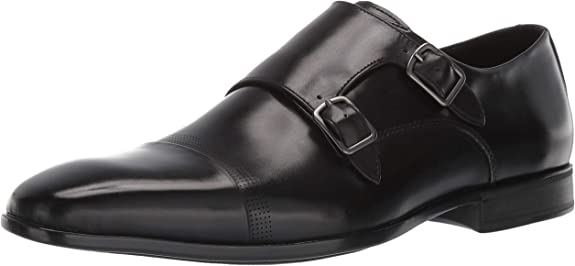 Kenneth Cole New York Regal Monk B KMS9053LE Mens Brown Monk Strap Oxfords Shoes