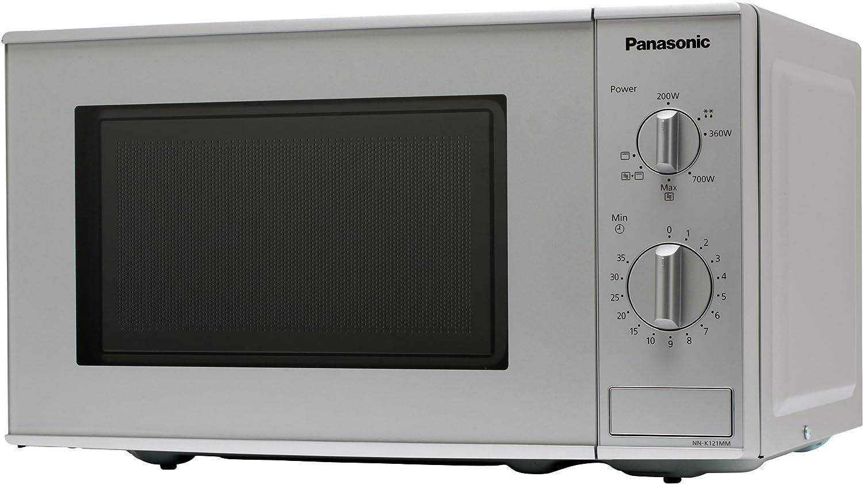 Panasonic NN-K121M - Microondas (1100W, 44,3 cm, 34 cm, 25,8 cm ...