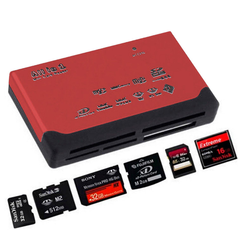 ADATECH - USB 2.0 Lector Tarjetas Memoria Multi TF Micro SD ...
