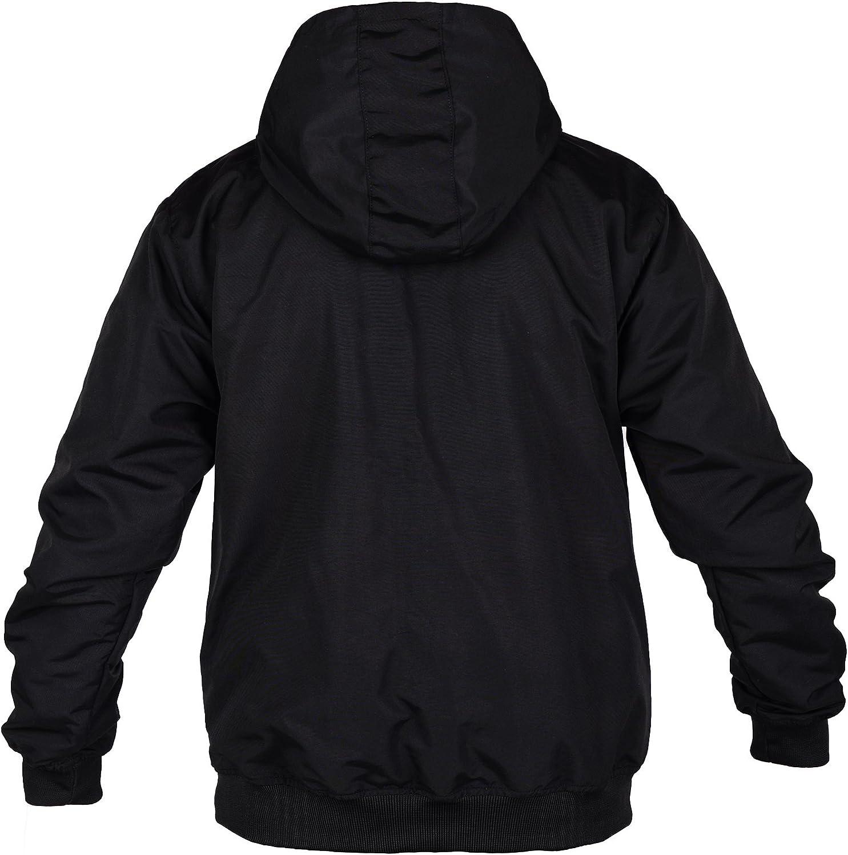Loco Ultras Hooligan Mens Riot Zip Jacket With Integrated Balaclava L8