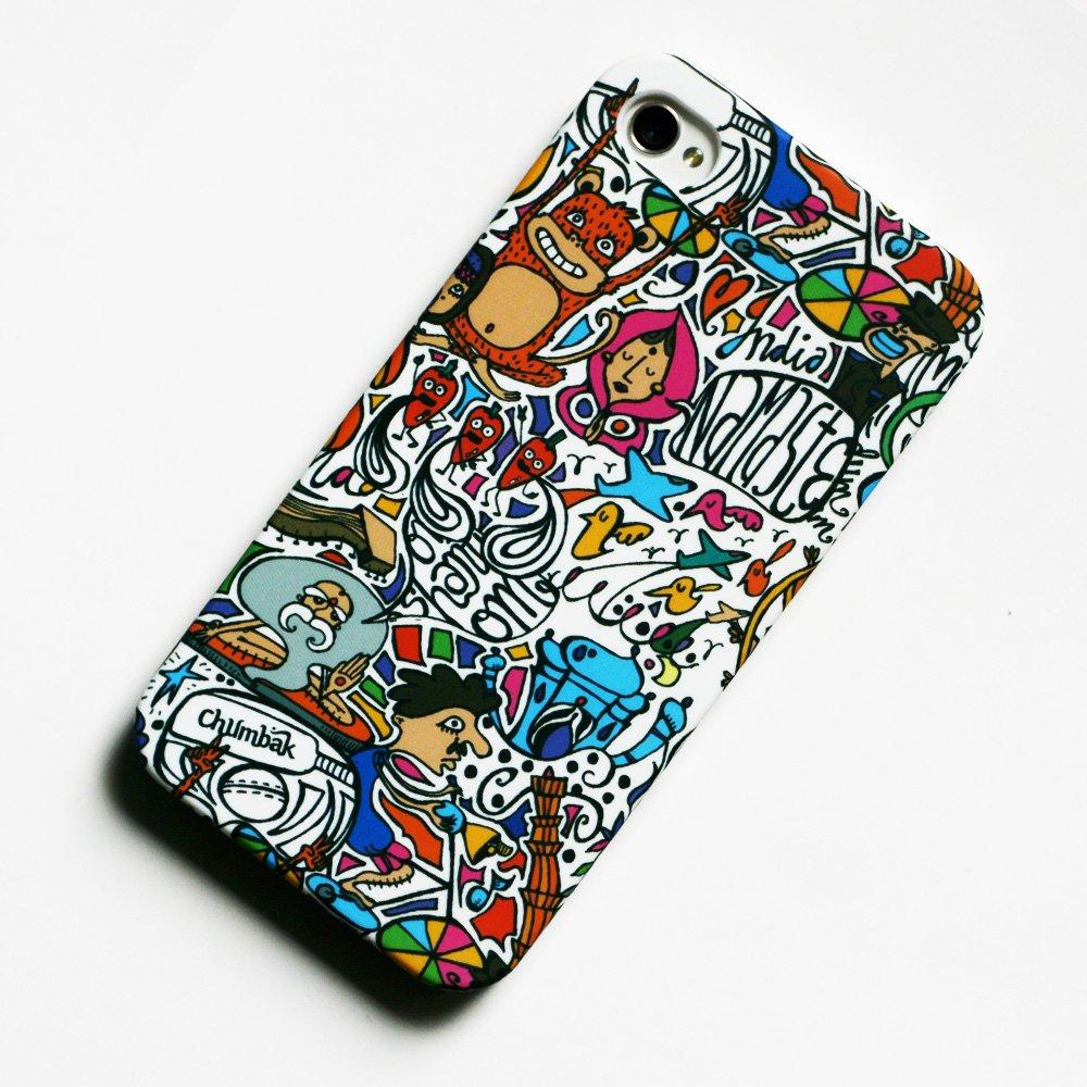 size 40 068f1 ea638 Chumbak Pattern iPhone 5 Cases: Amazon.in: Electronics