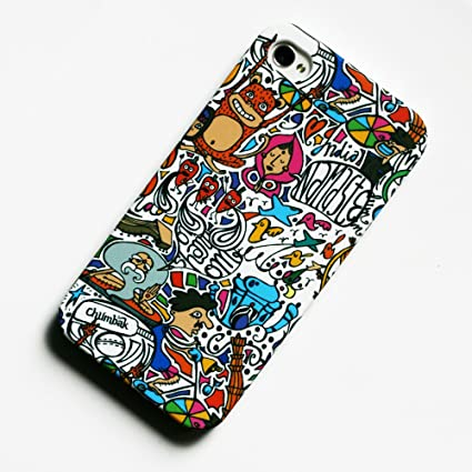 size 40 07e64 0112a Chumbak Pattern iPhone 5 Cases: Amazon.in: Electronics