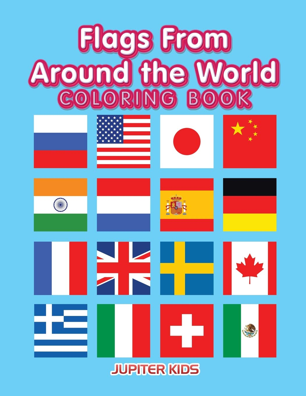 Coloring Book Pages For Kids To Print Free Printable Flags Of The ... | 1360x1051