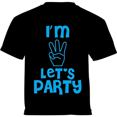 Vizor Im Three Lets Party Toddler Shirts Baby 3rd Birthday