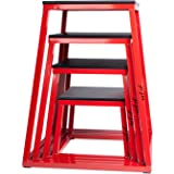 """j/fit Plyometric Jump Boxes - Singles in Heights of 12"""", 18"""", 24"""" and Sets up to 30"""""""
