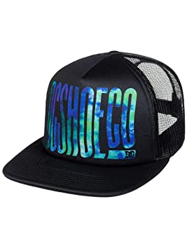 DC Shoes Trippy Gorra, Hombre, Negro (Anthracite Solid), Talla Única