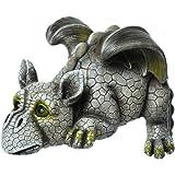 Decorative Garden Dragon Ledge Sitter