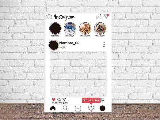 Photocall Instagram 2019 80 x 100 cm | Regalos para ...