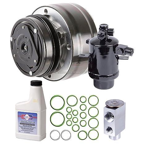 Nueva AC Compresor y embrague con completa a/c Kit de reparación para Mercedes-