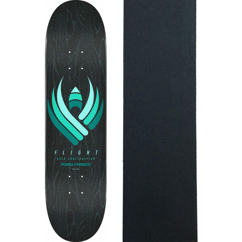 Powell Peralta Skateboard Deck Flight 245 Black 8.75 x 32.95 with Grip