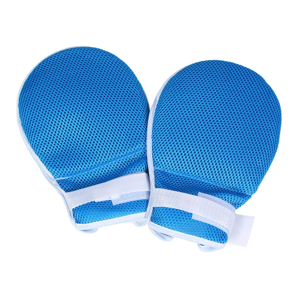 Control Mitts Medical Restraints Patient Hand Infection Protectors Padded Mitts Safety Universal Control Prevent Finger Harm Fixed Gloves - One Middle Finger Separators (2pcs/Set)