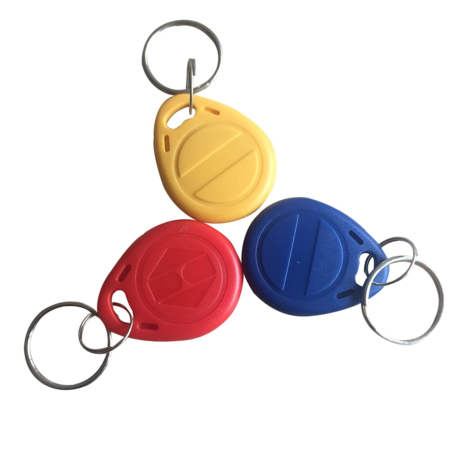 YARONGTECH-125khz rewritable T5577 RFID keyfobs/tag for Hotel key-10pcs (Mix Color)