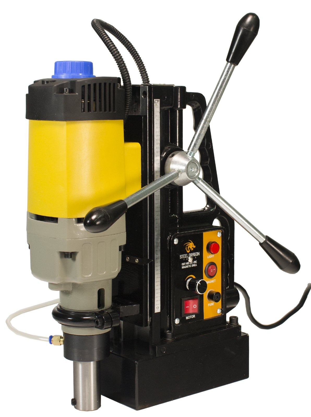 Steel Dragon Tools MD50 Magnetic Drill Press with 2'' Boring Diameter and 2,900 LBS Magnetic Force by Steel Dragon Tools (Image #1)