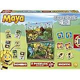 Educa - 15097 - Jeu éducatif et puzzles - Superpack 4 en 1 - Maya l'Abeille