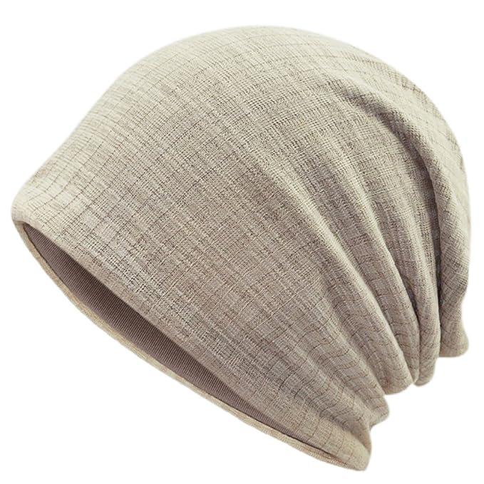 Emper Berretto beanie Cotone elastico Lungo Slouch Beanie Uomo   Donna 6f689e67787e