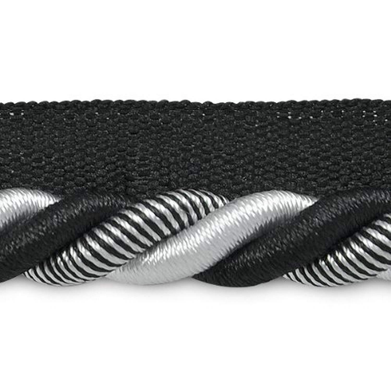 3//8-Inch Denim Expo International 20-Yard Leona Twisted Lip Cord Trim Embellishment