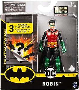 DC Batman 2020 Guardian Robin (Metallic) 4-inch Action Figure by Spin Master