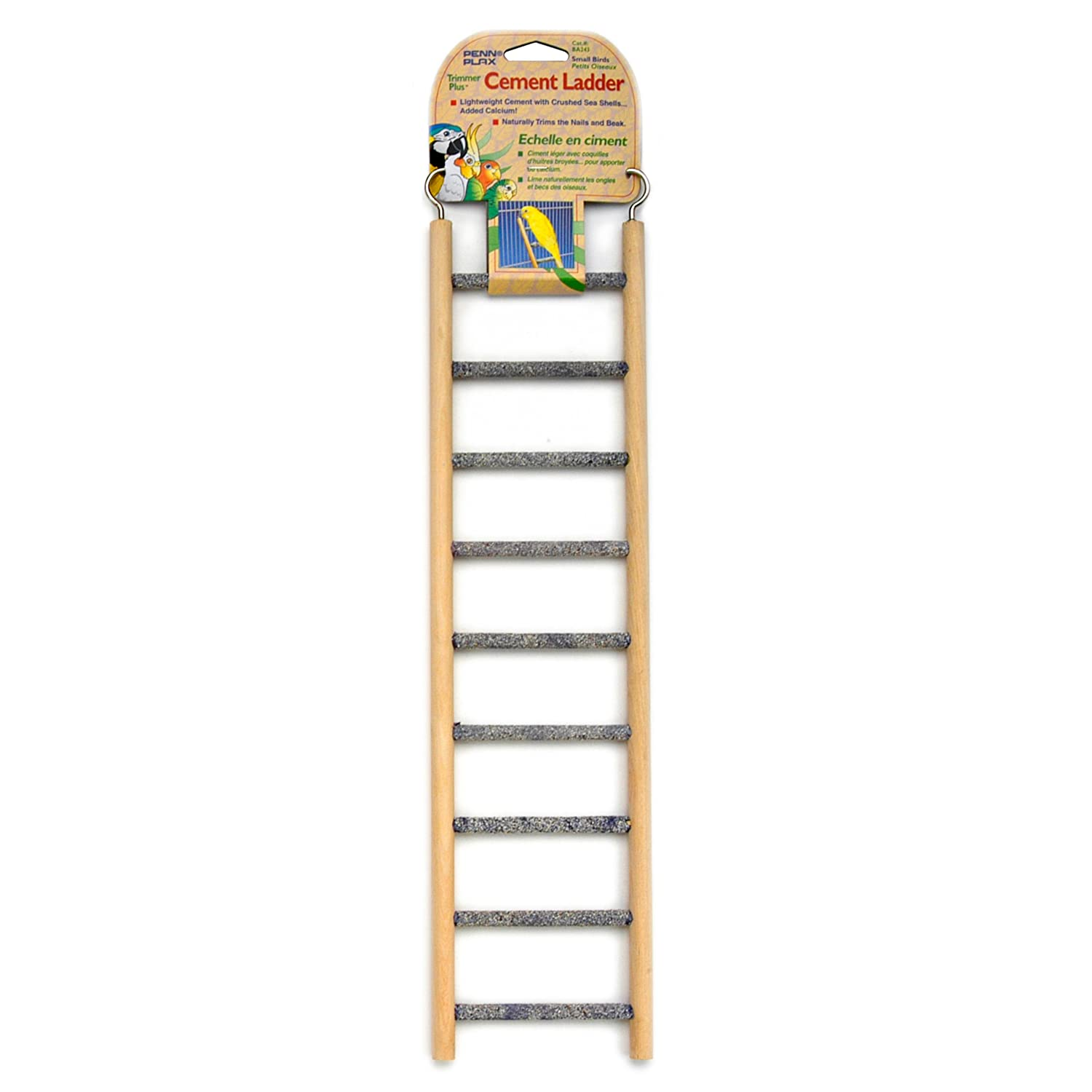 Penn Plax 9 step Wood & Cement Ladder by Penn-Plax B0002DJEO8