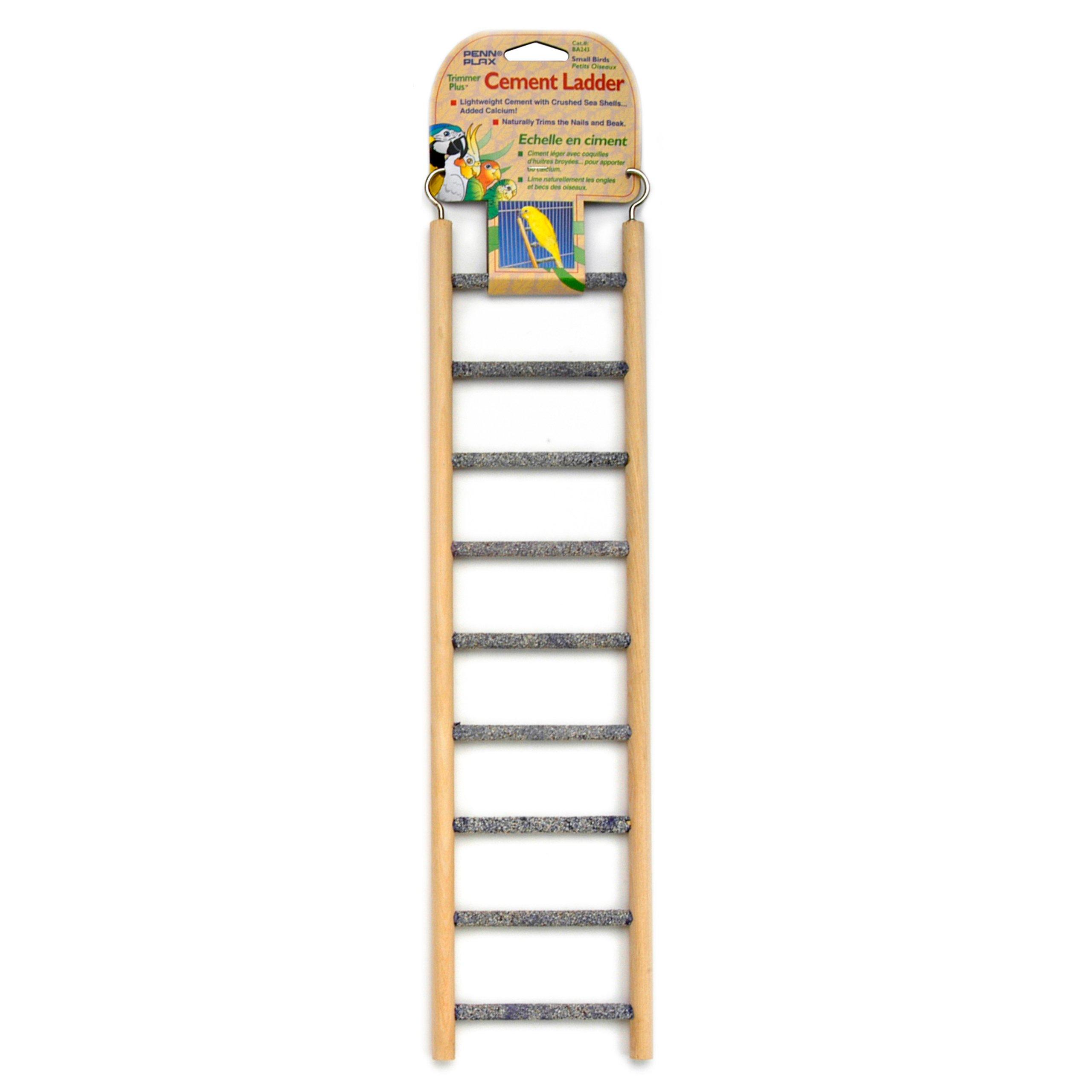 Penn Plax (BA243) 9 step Wood & Cement Ladder
