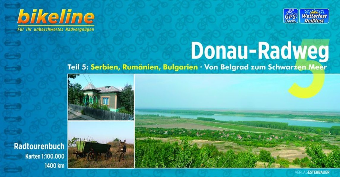 Donau - Radweg 5 Belgrad - Schwarzen Meer: BIKE.HU.15 PDF