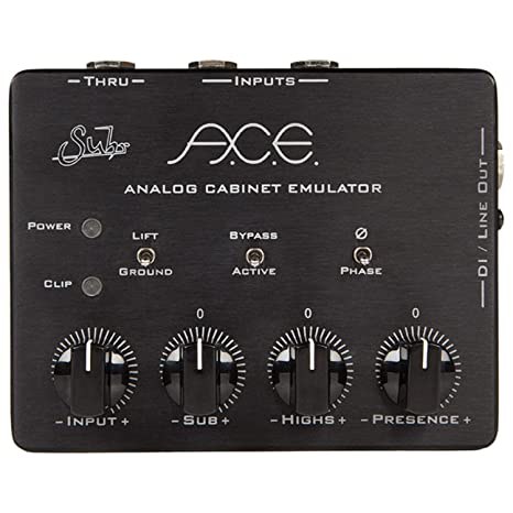 Amazon Com Suhr A C E Analog Cabinet Simulator Pedal Musical