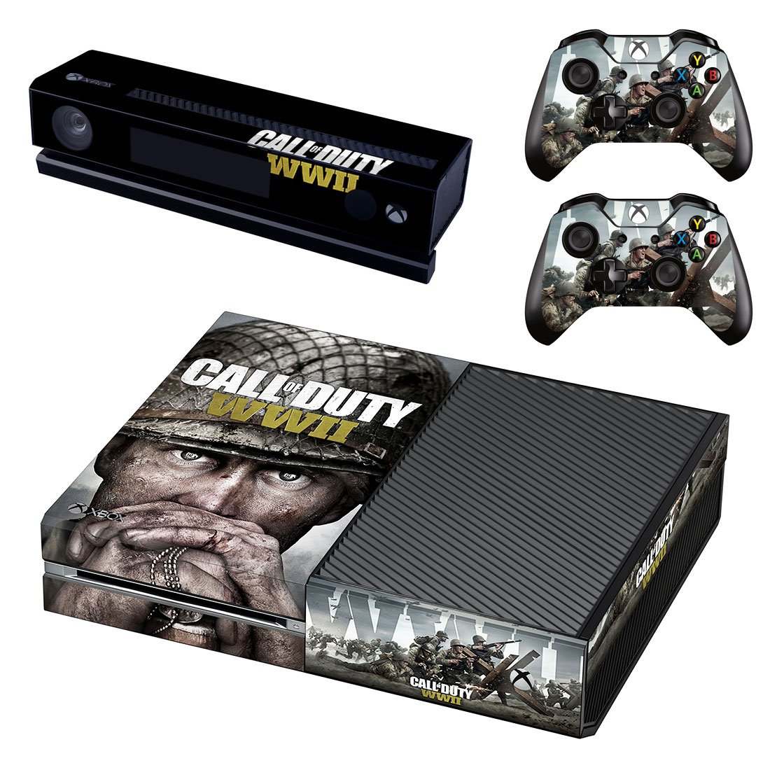 Video Games & Consoles Video Game Accessories Cod Wwii Ww2 Xbox One S Sticker Console Decal Xbox One Controller Vinyl Skin 2 Big Clearance Sale