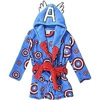 CERDÁ LIFE'S LITTLE MOMENTS Bata de Casa Invierno del Capitán América-Licencia Oficial Marvel para Niños