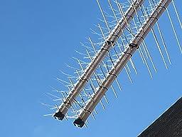 5 metri dissuasori anti piccioni m140 10 anni di garanzia for Dissuasori piccioni amazon