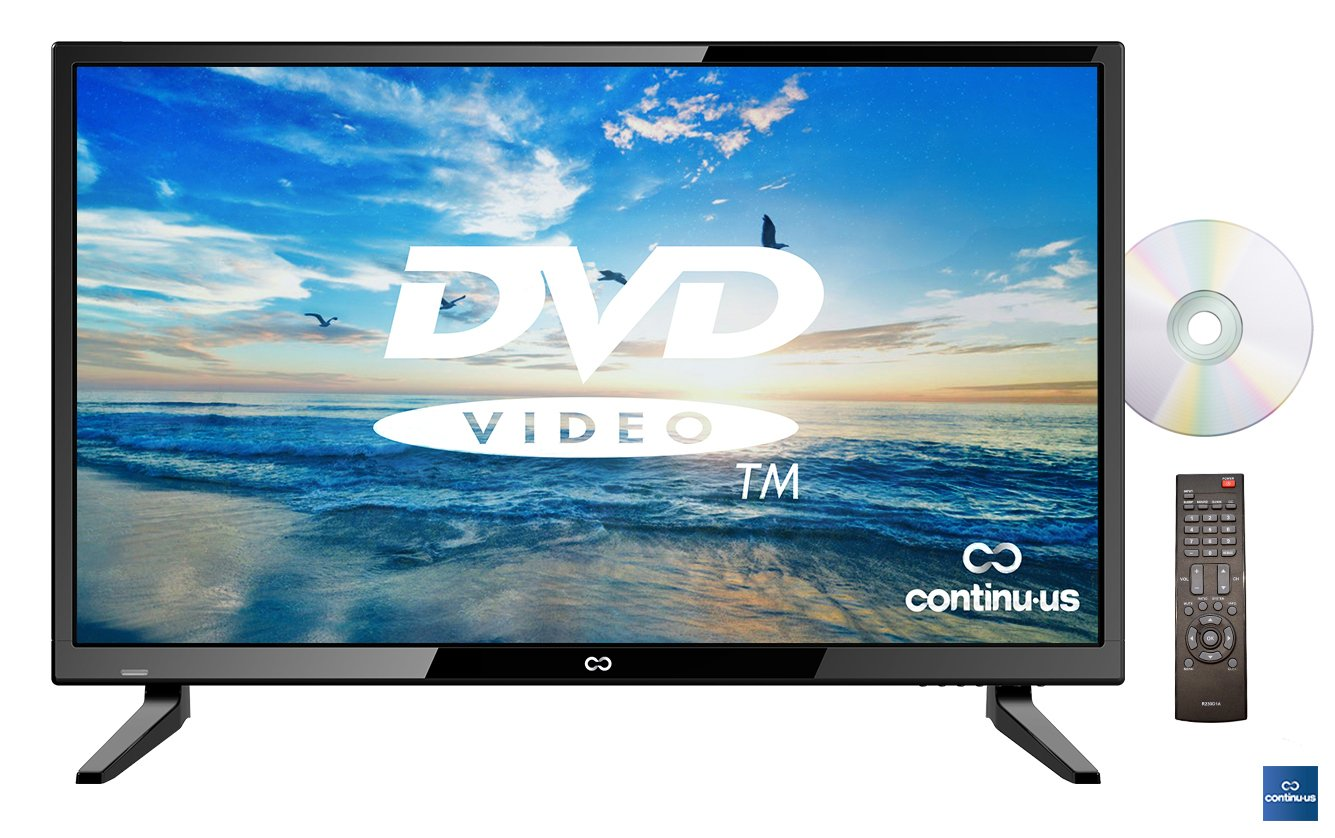 """32"""" LED HDTV with Built-in DVD Player by Continu.us 