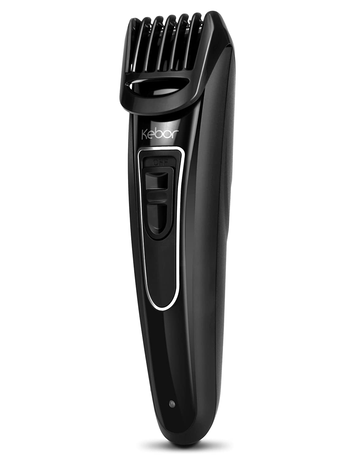 Beard Trimmer for Men, Kebor Hair Grooming Kit Cordless with 9 Length Precision Settings, All-in-one Guard, Comb Lock, Men's Rechargeable Body Groomer 1000mAh HT4040