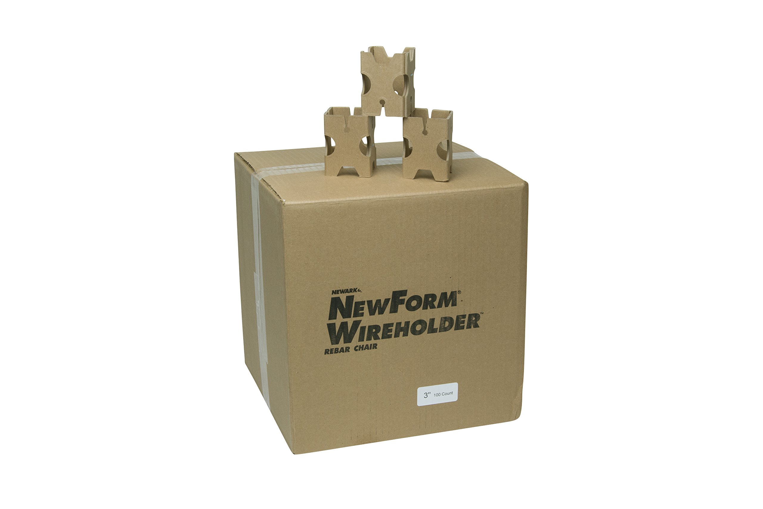 Newark Paperboard 3'' Wireholder Rebar Chairs (Pack of 100)