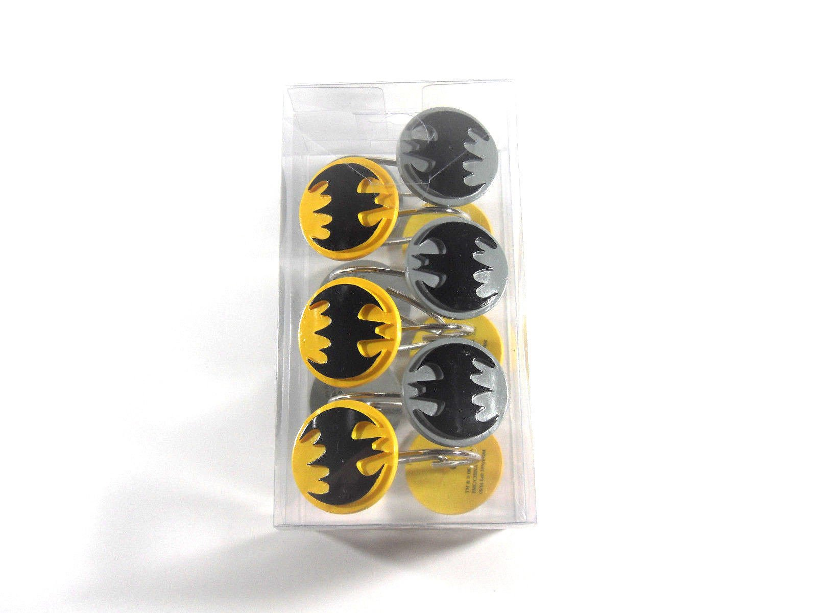 Batman Bathroom Set, Shower Curtain, Hooks, Bath Rug, Bath Towel, Pump Lotion, Toothbrush Holder by Batman (Image #2)