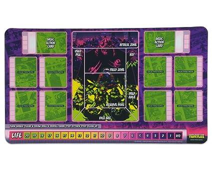 Teenage Mutant Ninja Turtles Dice Masters: Playmat Wizkids ...