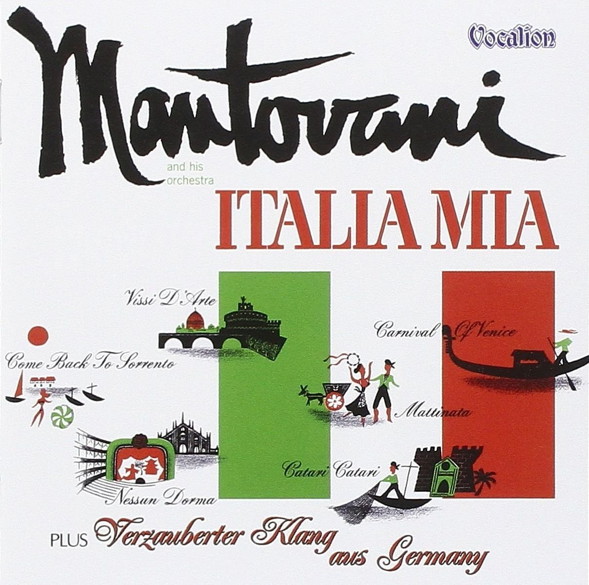 Italia Mia/Verzauberter Klang aus Germany by Dutton Vocalion UK