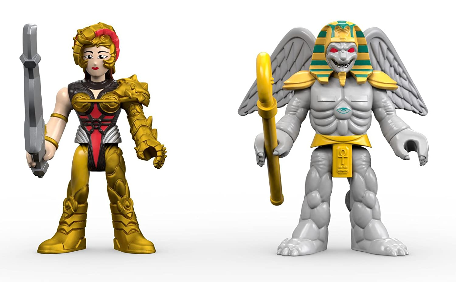 Fisher Price Imaginext Power Rangers King Sphinx Action Figure Collezione
