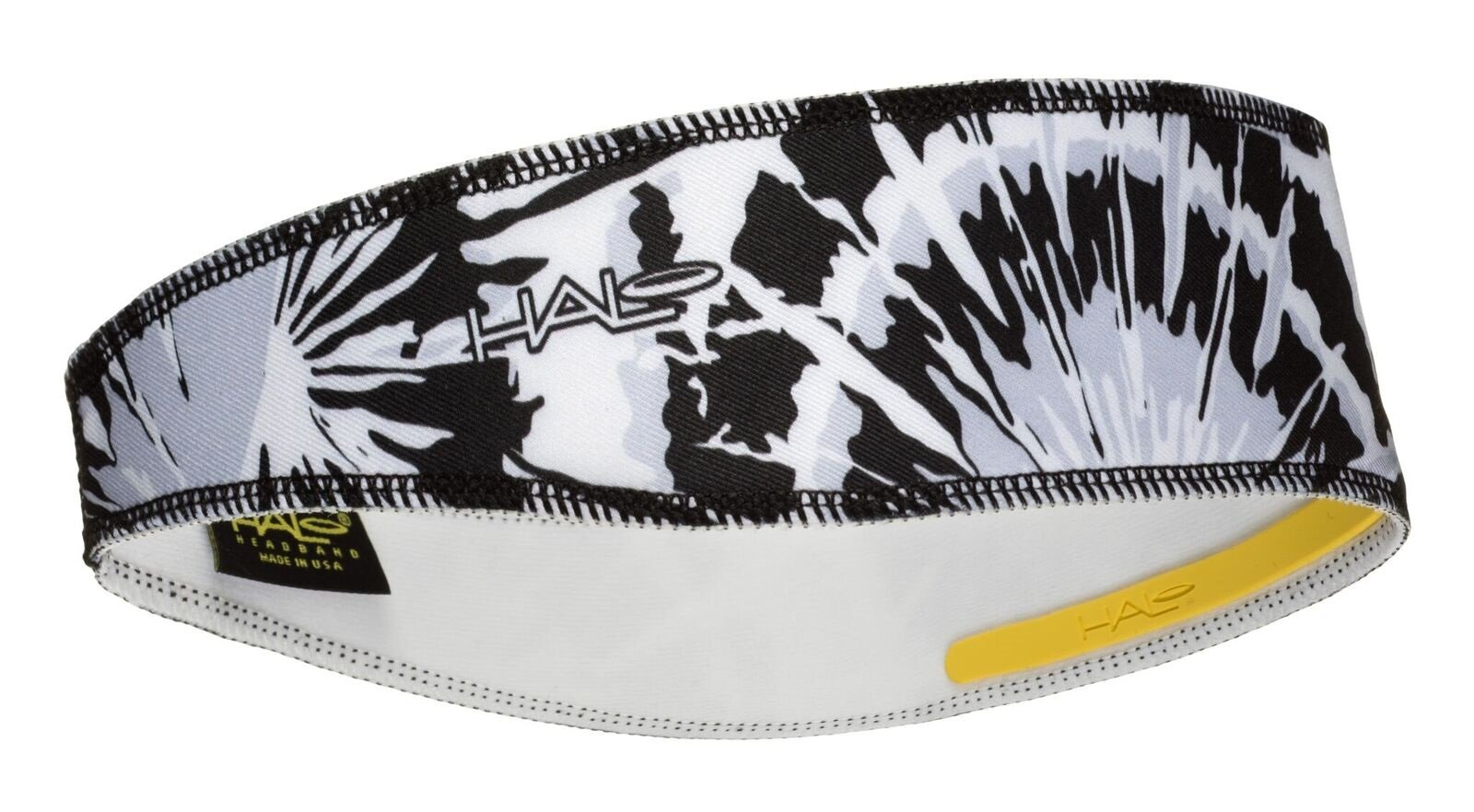 Halo Headbands Halo II Sweatband Pullover, Black Tie Dye by Halo Headbands