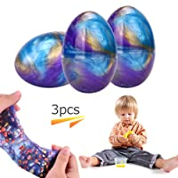 Colorful Egg Soft Slime Toy Galaxy Slime Putty Magic DIY Clay Stress Relief Sludge Toy