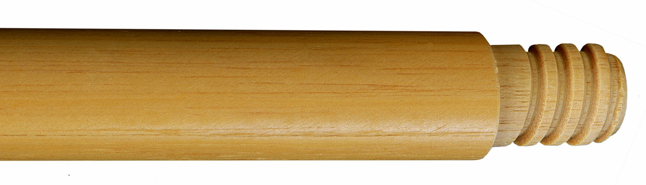 Wilen M101060, Threaded Wood Handle, 60'' Length, 15/16'' Shaft Diameter (Case of 12) by Wilen Professional Cleaning Products