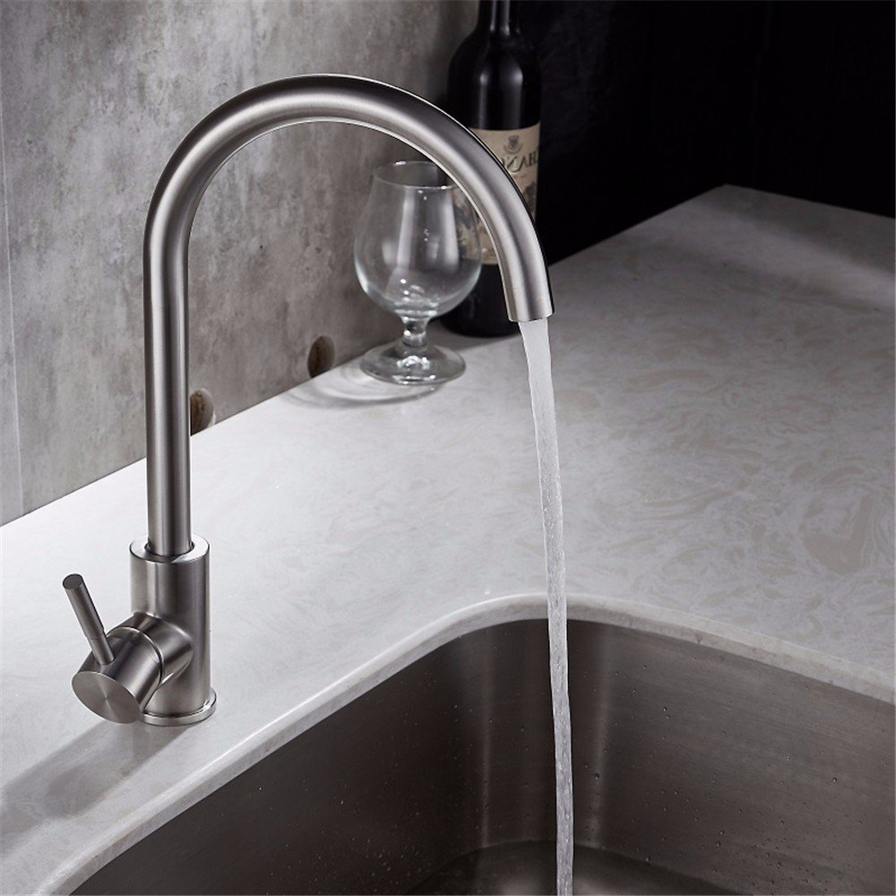 Lpophy Bathroom Sink Mixer Taps Faucet Bath Waterfall Cold and Hot Water Tap for Washroom Bathroom and Kitchen 304 Stainless Steel Can Be redated Hot and Cold