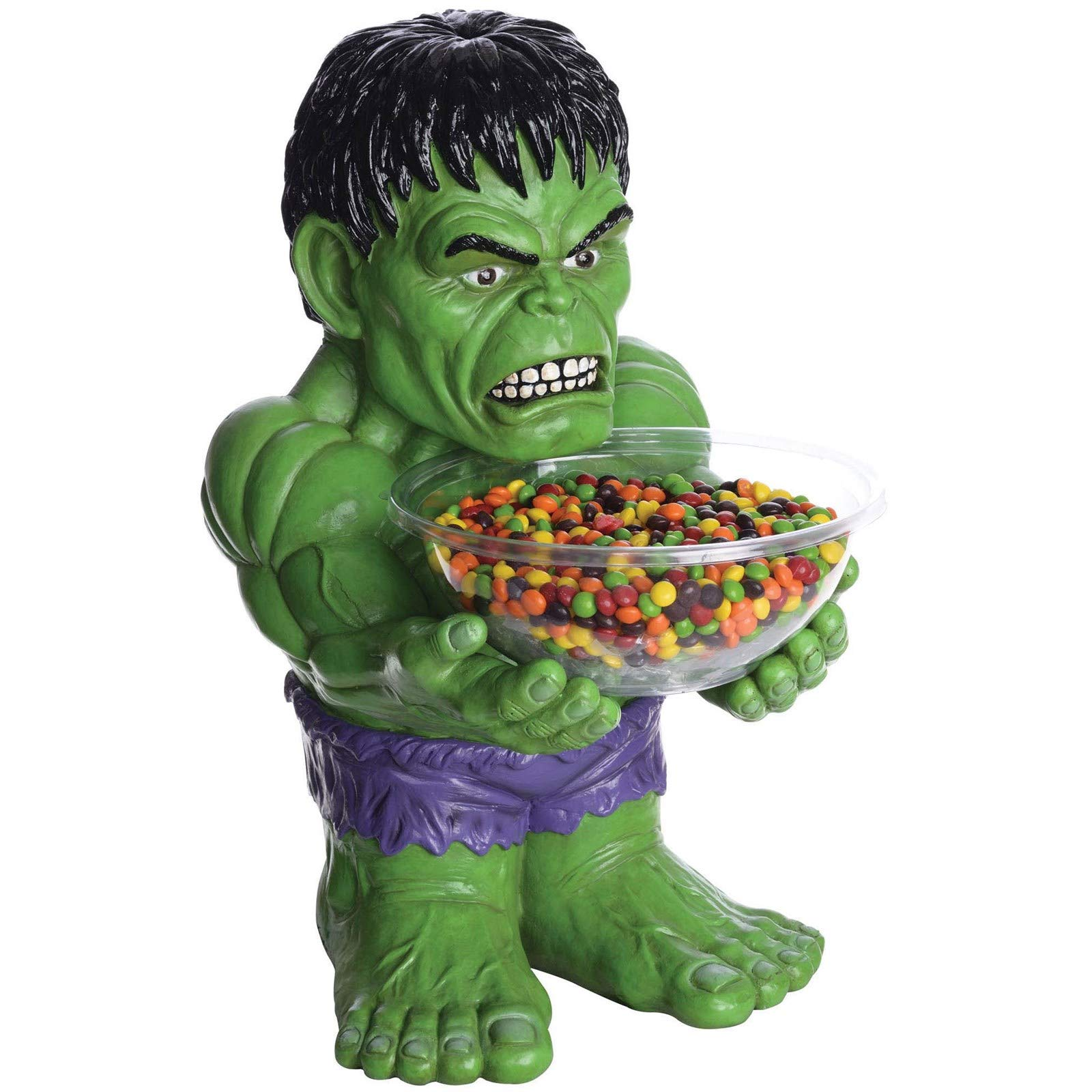 Plugtronics Hulk Candy Bowl Holder Halloween Decoration