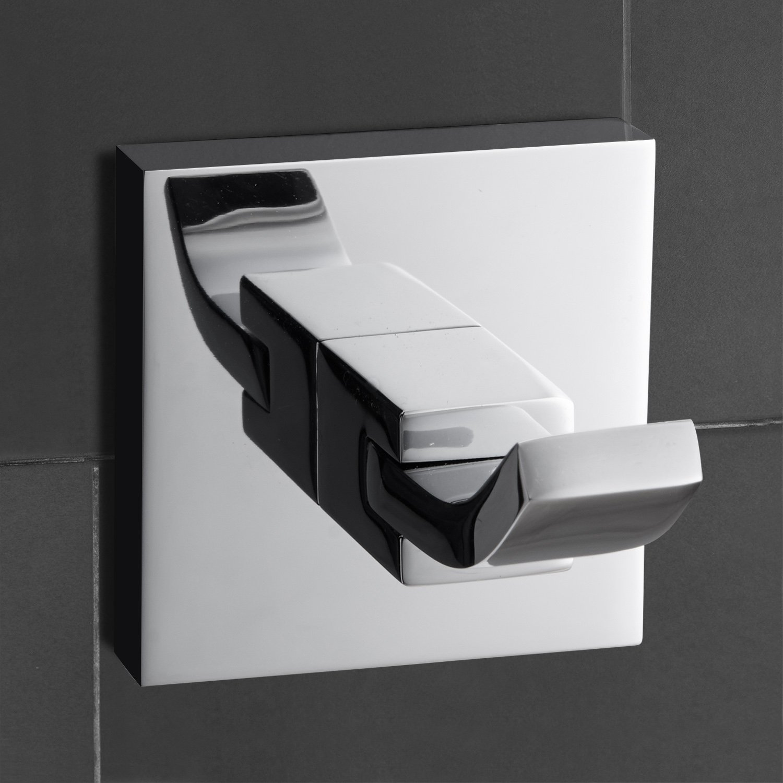 Amazon.com: Lightinthebox Two Hooks Robe Hooks Wall Mount Bathroom Towel  Cloth Holder Bathroom Accessory: Home Improvement