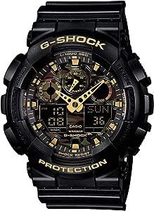 GSHOCK mens Automatic Watch Analog-digital Display and Resin Strap GA100CF-1A9