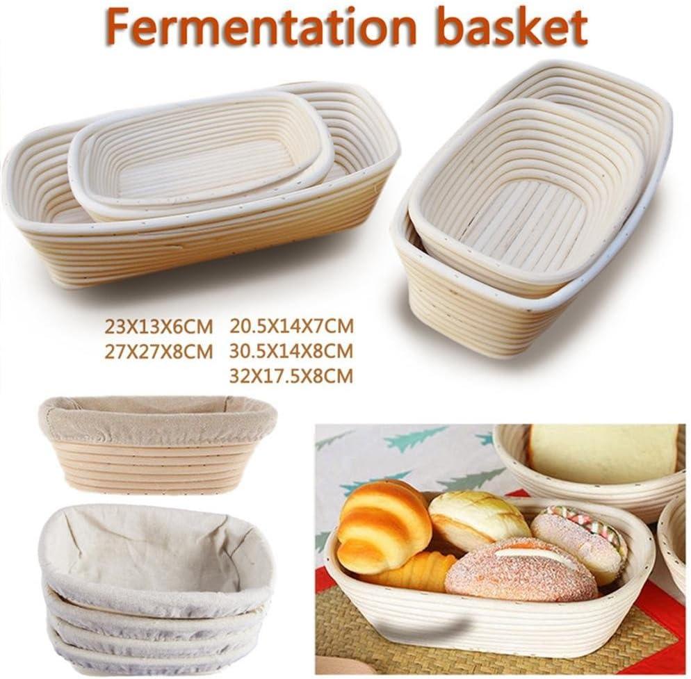 Schildeng G/ärk/örbchen hochwertig nat/ürlich G/ärkorb f/ür selbstgemachtes Brot nachhaltig Zero Waste ovaler Brotkorb Gaerkorb