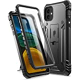 Poetic Compatible with iPhone 11 Case: [6FT Military Grade Drop Protection] iPhone 11 Case with Screen Protector, Heavy Duty