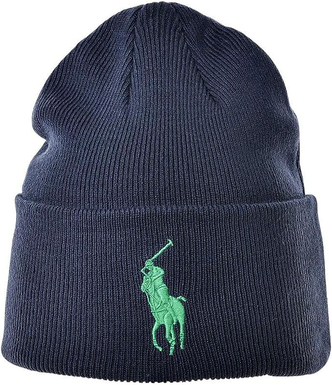 Polo Ralph Lauren Gorra para Hombre - Beanie, Logotipo de la Marca ...