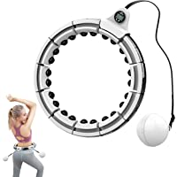 Droddle Smart Weighted Hula Hoop - Great for Fitness, Exercise, Weight Loss, Abs Stimulator, Pilates Ring Circles, for…