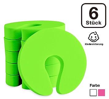 MINNA BABY Einklemmschutz f/ür Baby//Kinder Kindersicherung 6er-Set T/ürstopper