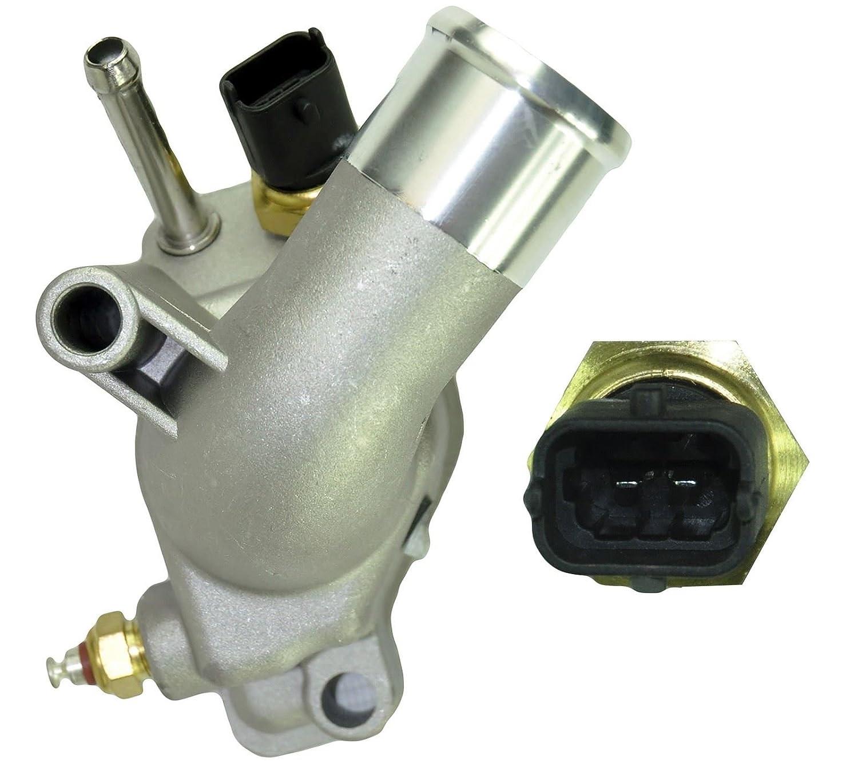 Para Corsa C/GST, Meriva, Signum 1.8 termostato con vivienda 6338005: Amazon.es: Coche y moto