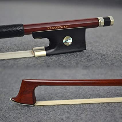 CHEAPER THAN REHAIR Good 4//4 NEW nickel mounted carbon PECCATTE copy violin bow