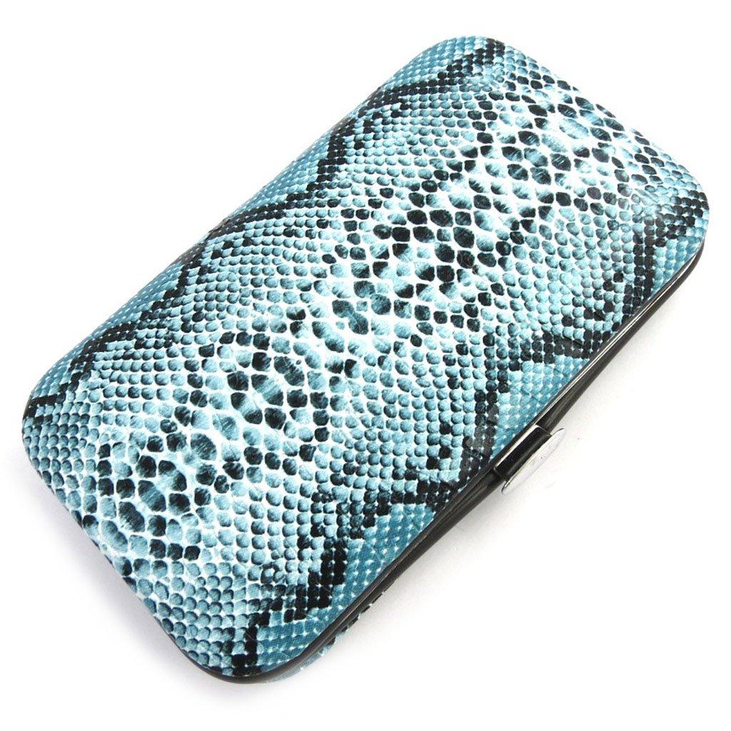 Les Trésors De Lily [N1318] - Trousse Manucure (motif python) bleu Les Tresors de Lily 030902FAN112015N131800